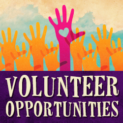 Click here to for volunteer opportunities.