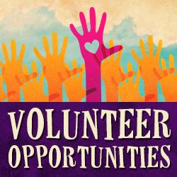 Click here to for volunteer opportunities.